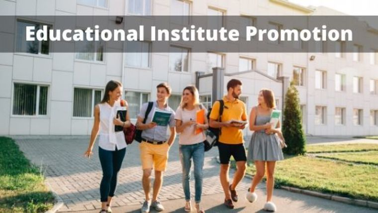 Large educatioal institute promotion