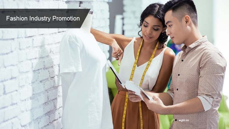 Large fashion industry promotion